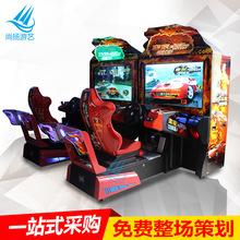 热销成人电玩城设备东京漂移赛车游戏机大型投币模拟机游艺机厂家