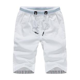 2021 Summer Men's Sports Pants Men's Shorts Men's Pants Men's Cotton Casual Beach Pants Wholesale
