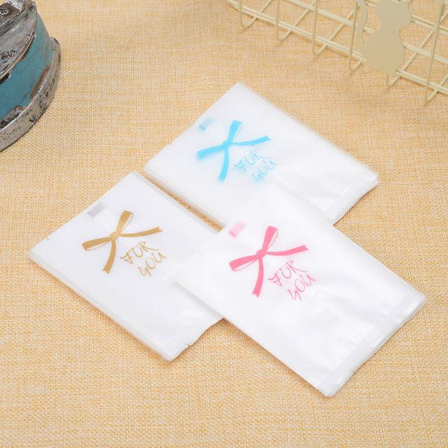 烘焙包装月饼袋花茶茶叶中封袋 for you机封袋蝴蝶结磨砂糕点袋