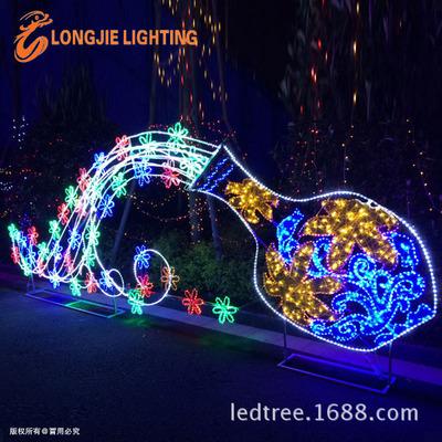 梦幻灯光节、灯展 -中大型流光瓶、新款中秋节花灯展