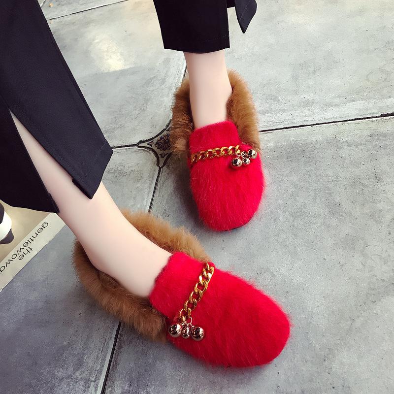 【618】免运费!冬季新款时尚棉鞋保暖舒适潮流女款