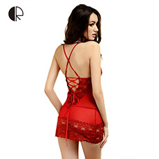 3026a0c98a Women s Fashion Sexy Lace Hallow Out Slip Sleeping Dress Free Shipping 2016  New Arrival Nightgowns Sleepwear Wholesales