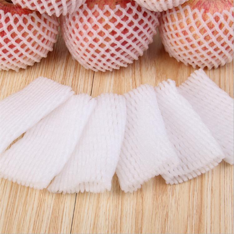 广州批发苹果、梨水果网套珍珠棉加厚防震泡沫网兜袋 包邮