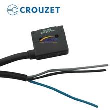 按钮式微动开关常开常闭6A@250V交流现货进口CROUZET高诺斯83186