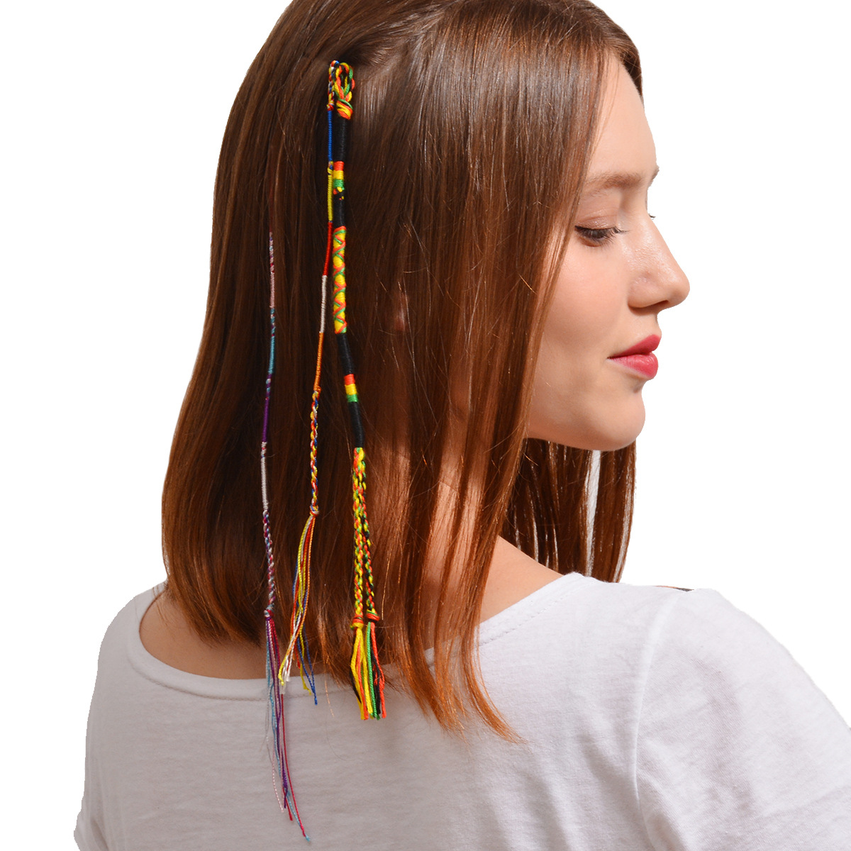 Occident and the United States ClothHair ornaments (A0164 color)NHXR1480-A0164 color