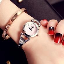 歌迪水钻陶瓷韩版潮流时尚学生防水石英表钢带时装手链表女表批发