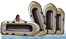 源頭廠家定制PVC充氣船水上釣魚船雙人皮劃船橡皮艇沖鋒舟氣墊船