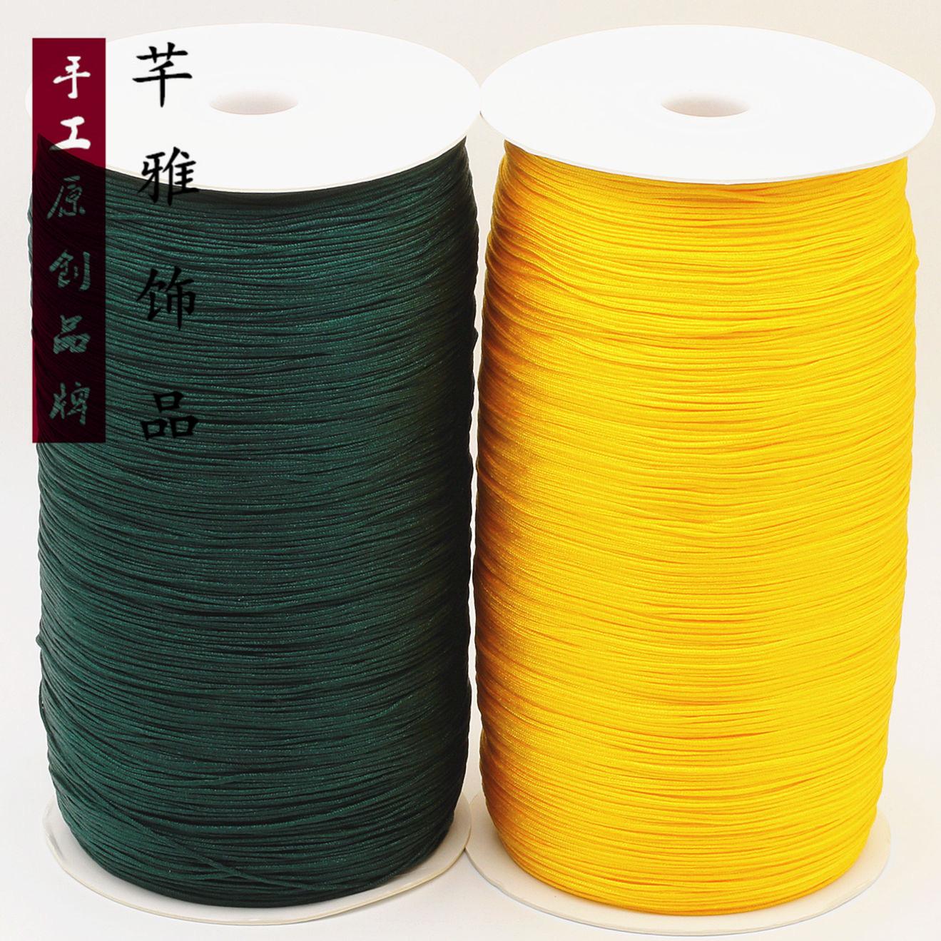 厂家直销 台湾72号线玉线中卷0.8MM大卷 DIY手工编织  促销优惠