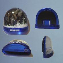 专业厂家定做 半圆形雪花放相片冰箱贴 亚克力水球 可换照片