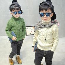 兒童毛衣韓版加厚童裝毛衣地攤貨源男女童針織毛衣打底衫尾貨清倉
