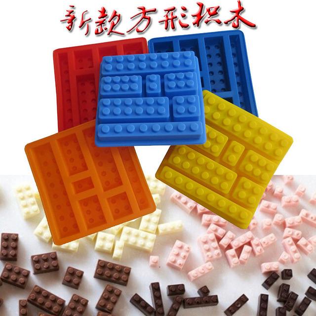 2014新款积木翻糖模 创意大小积木翻糖模 乐高硅胶积木翻糖模