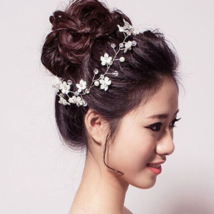 Hairpin hair clip hair accessories for women Low price flower lace handmade headband jewelry