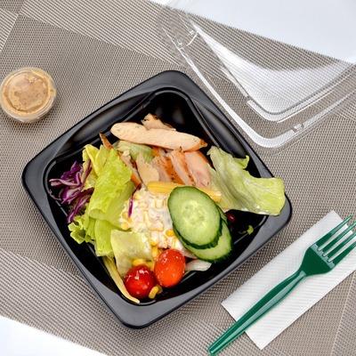 必威体育随行版betway31沙拉盒子外卖果盒 透明塑料碗水果保鲜盒打包盒100个