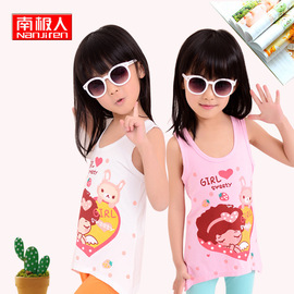Activity Children's Vest Summer Children's Wear Girls Vest Dress Antarctic Baby T-Shirt