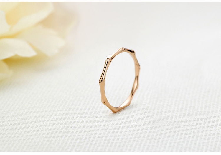 Alloy Korea Geometric Ring(Rose Gold-16mm) NHLJ3762-Rose Gold-16mm