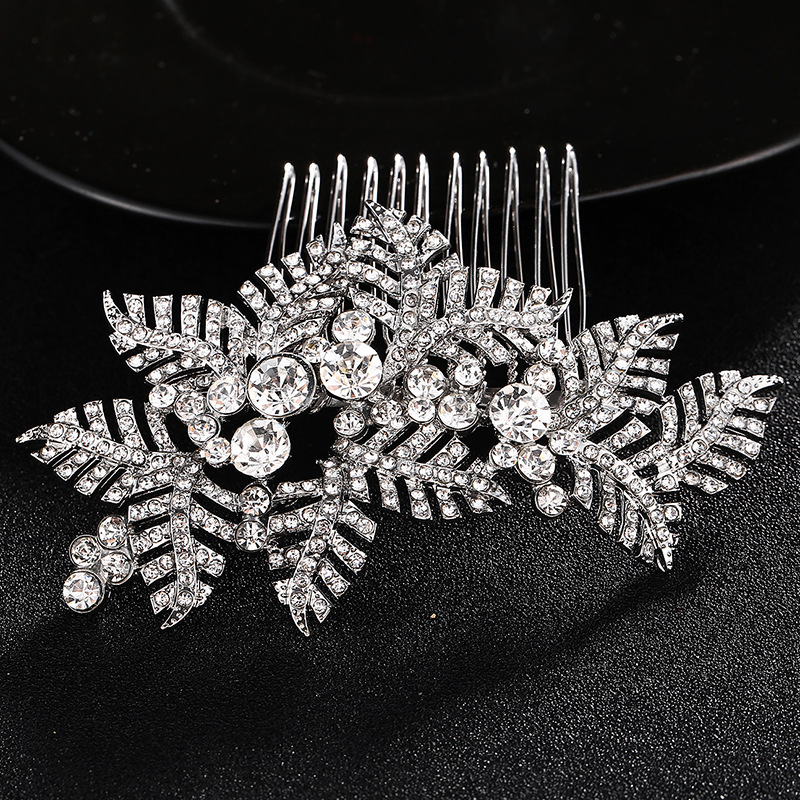 Alloy Fashion Flowers Hair accessories  (Alloy) NHHS0440-Alloy