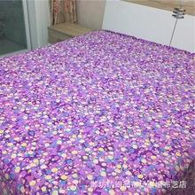 家纺面料全棉生态澳棉 加厚平纹活性花布料批发 磨毛柔和布料