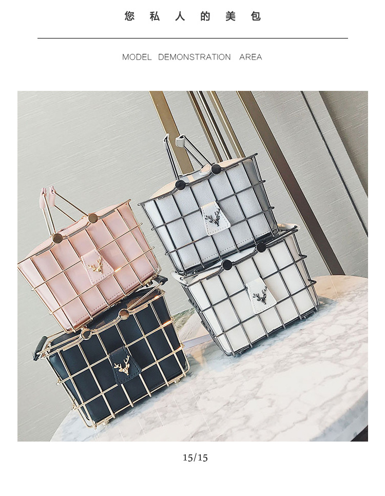 Korean style otherShoulder Bags (Pink)NHPB0618-Pink