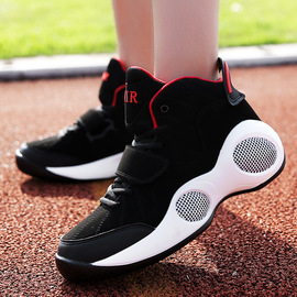 Spring new large size casual basketball sneakers trend fashion high to help explosion