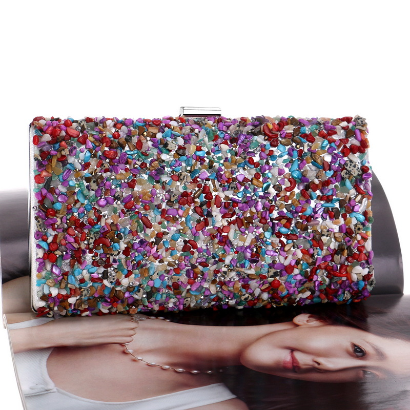 new ladies party dress banquet bag clutch bag small square bag wholesale nihaojewelry NHYM234723