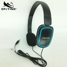 欧飞厂家直销OF-899有线电脑耳机 头戴式耳机 航空耳机