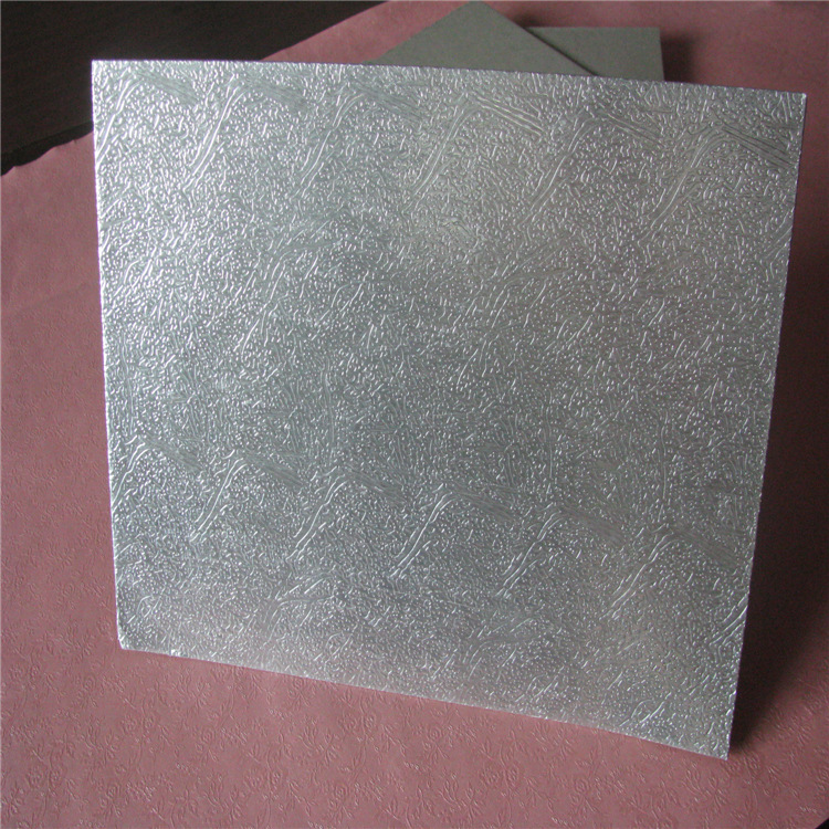 铝箔纸板【千秋】 1.0mm冰箱冰柜后背纸板 耐高温AFC复合铝箔纸板