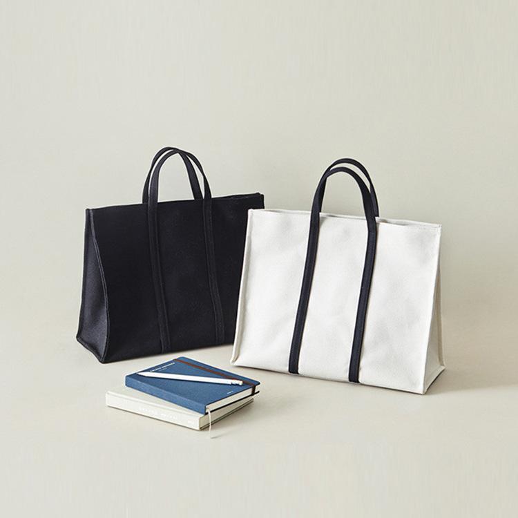 帆布包女士手提包 新款韩版简约风格女包时尚大气手拎包批发