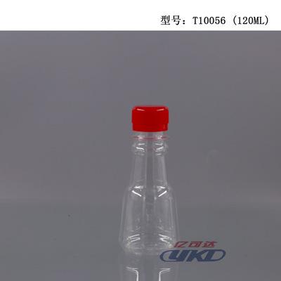 批发定制酱油醋瓶120ml透明PET塑料瓶香油瓶手榴弹瓶厂家直销