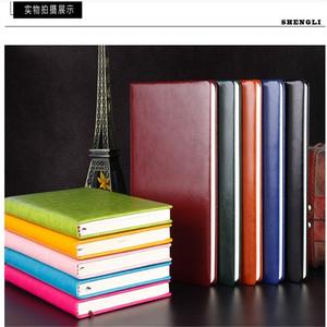 包邮爆款笔记本 PU皮面记事本定制 日记本办公赠品 商务小本子
