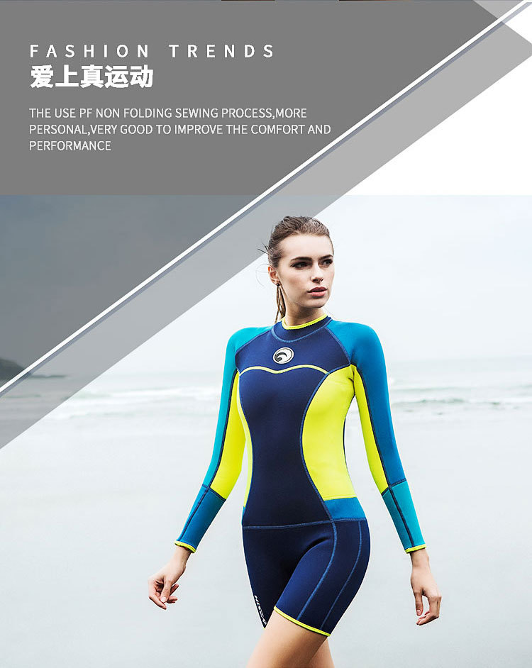 Detail Feedback Questions about 2018 Women s Wetsuit 1.5mm Long ... 87094feef