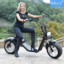 廠家直銷電動哈雷車鋰電車電動車成人電動代步車