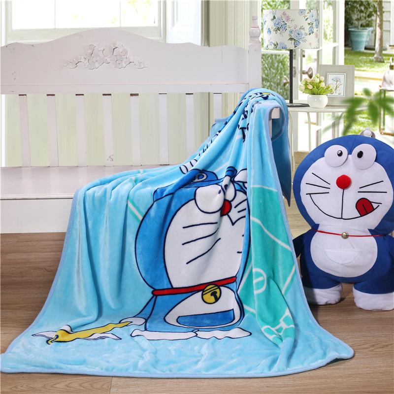 厂家直销法兰绒毛毯子单层卡通儿童毯毛毯盖毯空调毯礼品一件代发