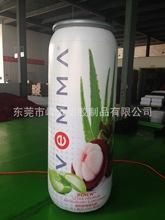 工厂供应充气饮料罐模型 充气易拉罐广告产品 充气电压模型