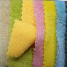 现货库存250克加厚双面法兰绒布料法莱绒睡衣毛毯睡袍鞋帽绒面料