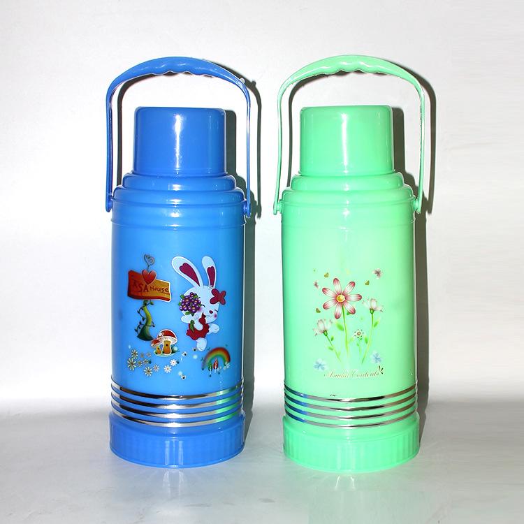 带盖塑料保温瓶/保温壶/热水瓶/暖瓶 出厂价批发 3.2L
