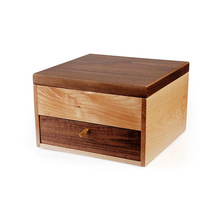 厂家定制礼品包装盒 高档保健品木盒 时尚礼品木盒包装盒