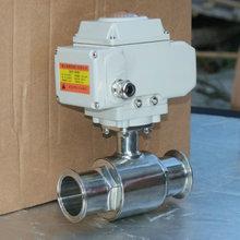 电动卫生级球阀Q981F 电动球阀厂家 电动阀门选型
