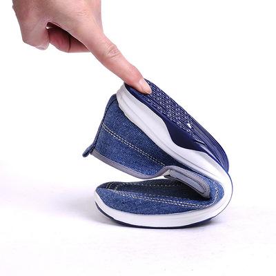 Mùa hè denim giày vải của nam giới thường giày vải thấp sinh viên một bàn đạp thời trang giày lười thay mặt cho một thế hệ