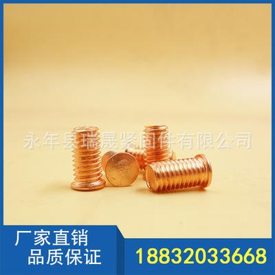 鐵鍍銅短周期拉弧焊釘/焊接螺絲GB/T902/ISO13918