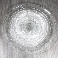 透明玻璃水果盘创意现代客厅果盘干果糖果盘KTV小果盘碟子定制