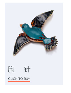 Alloy Fashion Animal brooch  (Old alloy + gray) NHTF0155-Old-alloy-gray