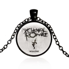 My chemical romantic My Chemical Romance clown time jewel necklace
