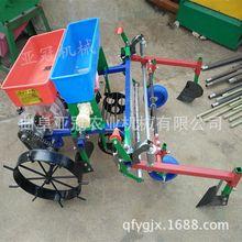 小型农业机械多功能播种机 柴油双行播种机