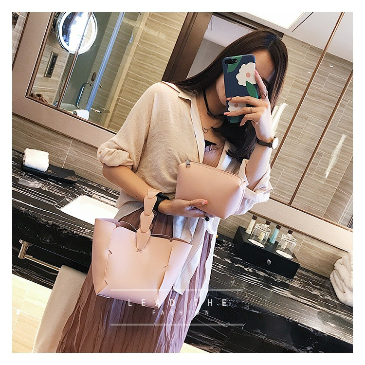 Korean version PUMessenger bag (Pink)NHPB0608-Pink