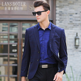 men's casual suit spring and autumn new youth plaid casual suit jacket men's small suit