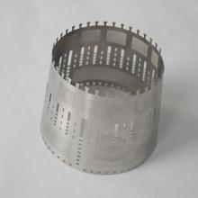 厂家定制批发  蚀刻工艺榨汁机不锈钢过滤筒滤网  过滤筒细滤网