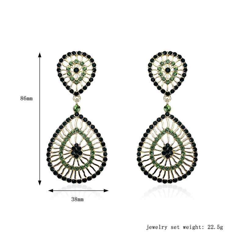 Occident and the United States alloy plating earring (61179389)NHLP0803-61179389