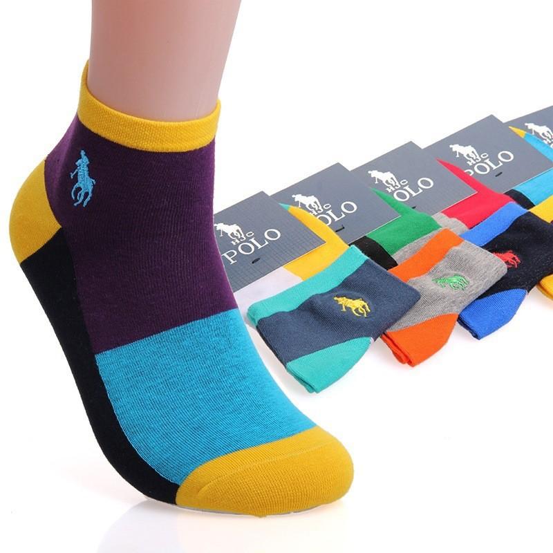 POLO保罗秋冬新款品牌男士袜子棉男士商务中筒袜 袜子定做