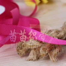 彩色3分滌綸彈力織帶 彩色禮品包裝DIY用品 服裝花邊輔料批發供應