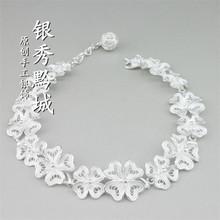 999手工银饰原创设计批发订做足银纯银手链女式一件代发厂家直销